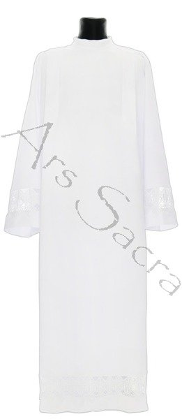 Alb with lace A16-B
