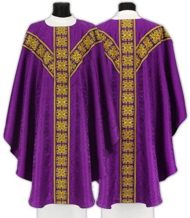 Semi Gothic Chasuble GY555-F25