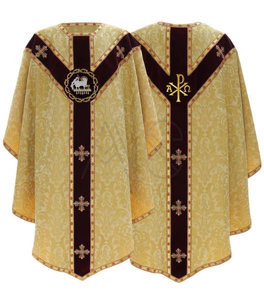 """Semi Gothic Chasuble """"Lamb"""" GY817-AGC26"""