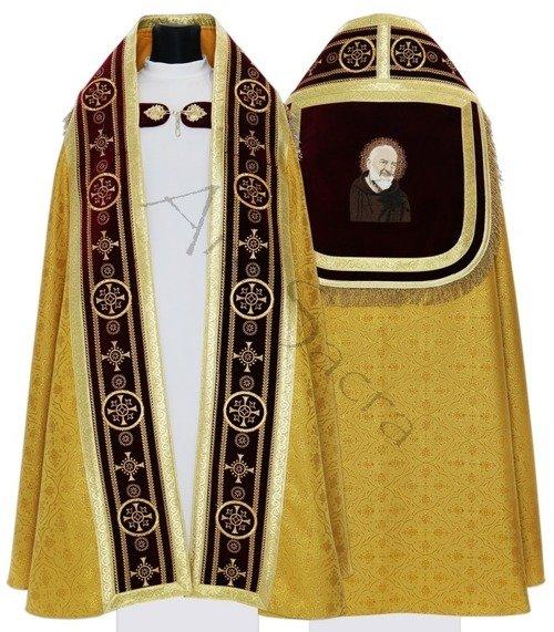 """Chape romaine """"Saint Padre Pio"""" KT579-AGC16h29"""