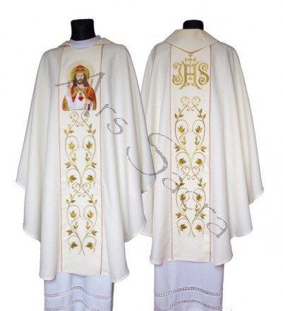 "Casulla gótica ""Cristo Rey"" 543-K"